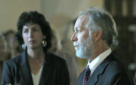 Attorneys Linda Krop (left) and Marc Chytilo