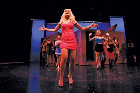 <em>Legally Blonde, the Musical</em>
