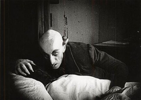 German actor Max Schreck as Nosferatu, 1922