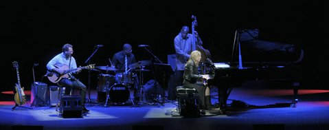 Diana Krall at the Santa Barbara Bowl