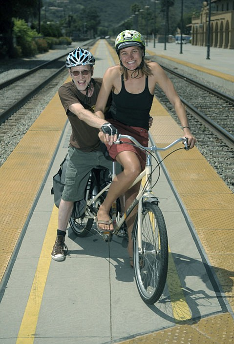 Erika Lindemann and Howard Booth