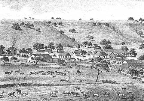 San Carlos de Jonata Rancho & Residence of R.T. Buell.