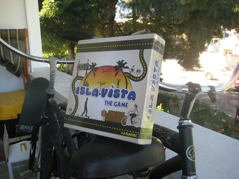 Isla Vista board game