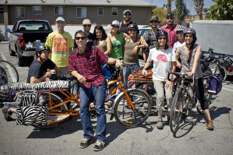 The CicLAvia gang