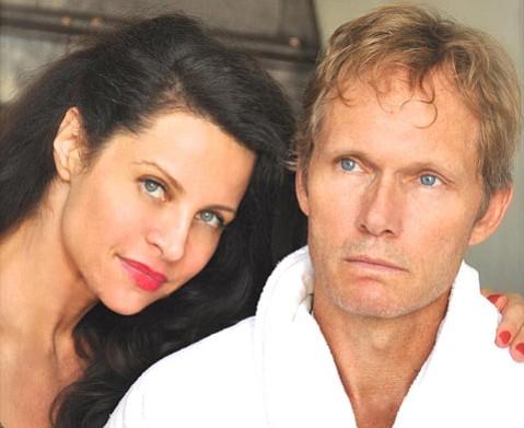 Tina Arning and Tom Schanley.
