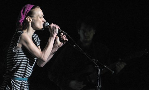 Fiona Apple at the Santa Barbara Bowl