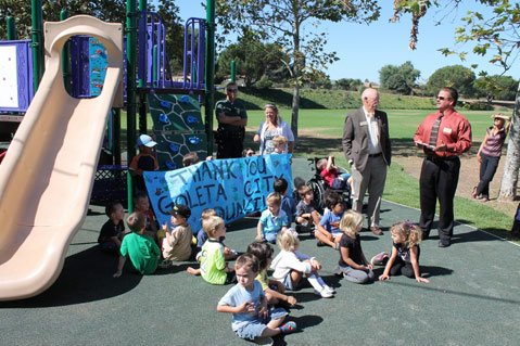 Evergreen Park Playground opens in Goleta