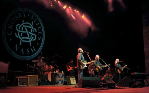 Crosby, Stills, & Nash play the Santa Barbara Bowl (Sept. 29, 2012)