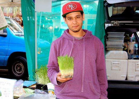 Jose Perez of Ojai Valley Sprouts