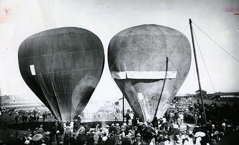 Balloon exhibition, 1891.