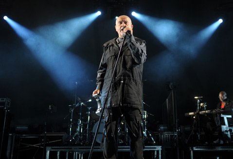 Peter Gabriel at the Santa Barbara Bowl (Oct. 9, 2012)