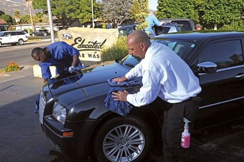 The hard-working crew at Educated Car Wash makes this our readers' perennial best place to get clean.
