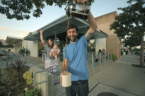 The French Press family at their newly opened second location.