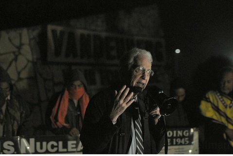 Daniel Ellsberg at Vandenberg Air Force Base (Feb. 25, 2012)