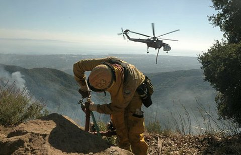 Lookout Fire (Oct. 17, 2012)