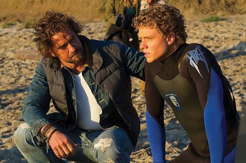 Fresh-faced surfer Jay Moriarity (Jonny Weston) seeks out grizzled big-wave guru Frosty Hesson (Gerard Butler) to teach him the way of the wave in the melodramatic guilty pleasure &lt;i&gt;Chasing Mavericks&lt;/i&gt;. 