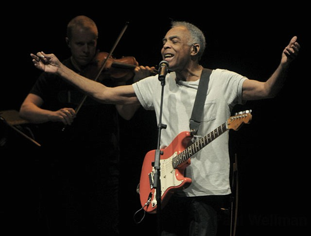 Gilberto Gil at UCSB's Campbell Hall (Oct. 26, 2012)
