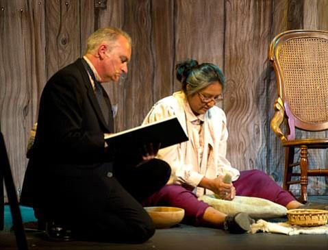 <i>Maria</i> features portrayals of anthropologist J.P. Harrington and Chumash matriarch Maria Solares.
