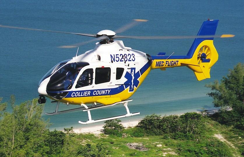 An American EuroCopter 135
