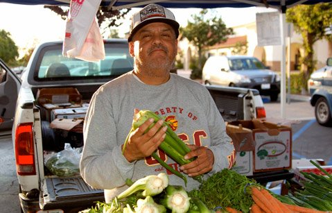 Peter Desales of Goleta Valley Farms