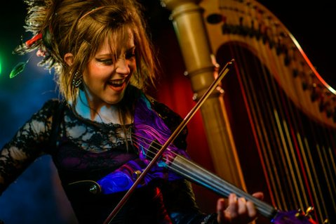 Lindsey Stirling plays a kick-off show for the 2012 New Noise Music Conference & Festival on Wednesday, November 7.