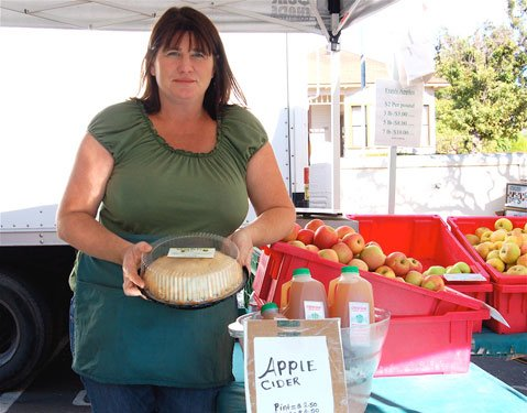 Tracie Derwin of Creekside Apple Ranch