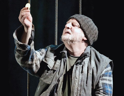 Simon Russell Beale as Timon.