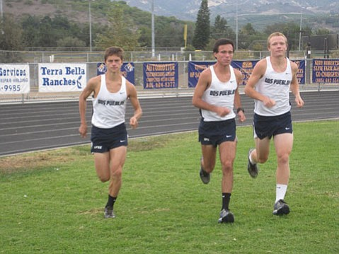 from left: Max Davis, Bryan Fernandez, and Ben York.