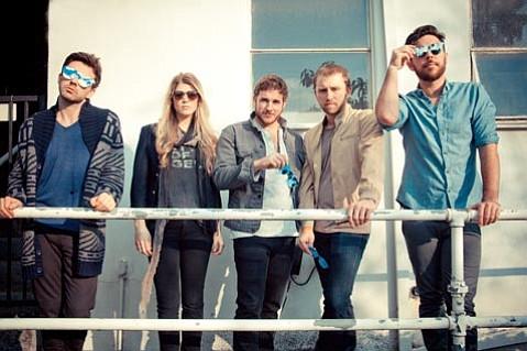 Los Angeles quintet Milo Greene brings its cinematic take on folk music back to Santa Barbara on Friday night.