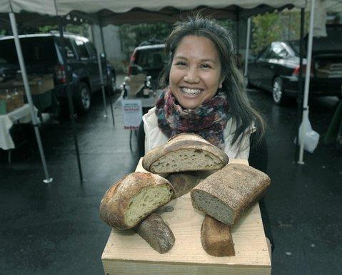 Melissa Sorongon with New Vineland Bread