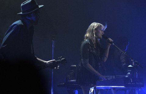 Metric at KJEE's Winter Round-Up at the Arlington Theatre.