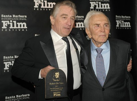 Robert DeNiro and Kirk Douglas