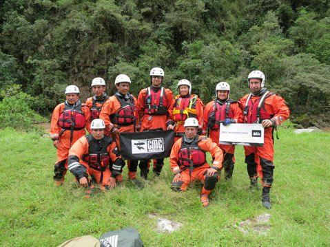Santa Barbara and Macchu Pichu search and rescue personnel