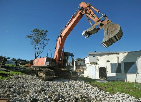 Miramar Hotel demolition