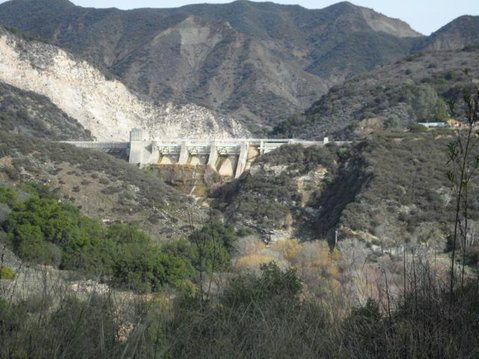 Under Gibraltar Dam