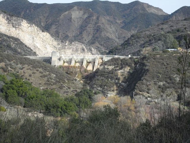 Under Gibraltar Dam