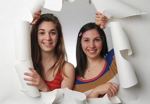 Zoe Serbin and Emma Steinkellner