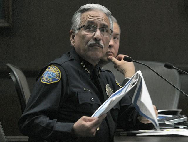 Police Chief Cam Sanchez