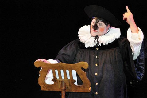 As part of PlayFest, John Achorn will present a workshop on commedia dell'arte.