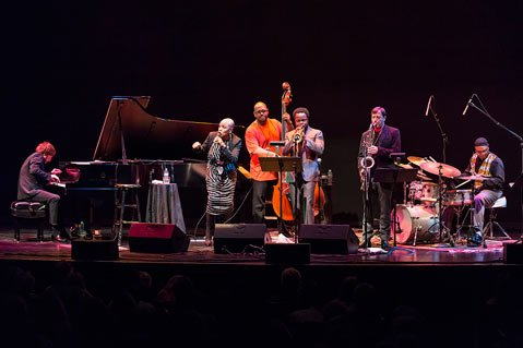 Dee Dee Bridgewater and Christian McBride were among the all star players in this concert.