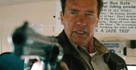 In <i>The Last Stand</i>, a small-town sheriff (Arnold Schwarzenegger) steels himself against the approach of a fugitive drug-cartel leader making his way for the Mexican border.