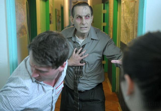 "On the set of ""Killer Raise"" at the Santa Barbara Tourist Hostel (Jan 25, 2013)"