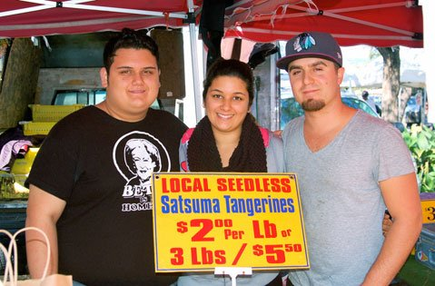 Anthony Marquez, Jessica Marquez, and Cody Sell.