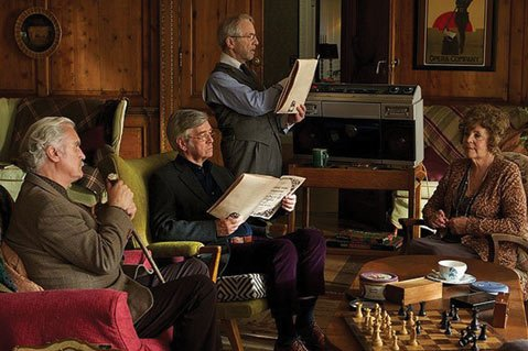 Dustin Hoffman's directorial debut, <i>Quartet</i>, fills the frame with plenty of aging British all-stars but fails to hit any high notes plot-wise.