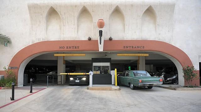 Granada Theatre parking garage