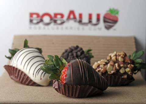 Bobalu Berries' gourmet strawberries are the perfect gift for your sweetie.