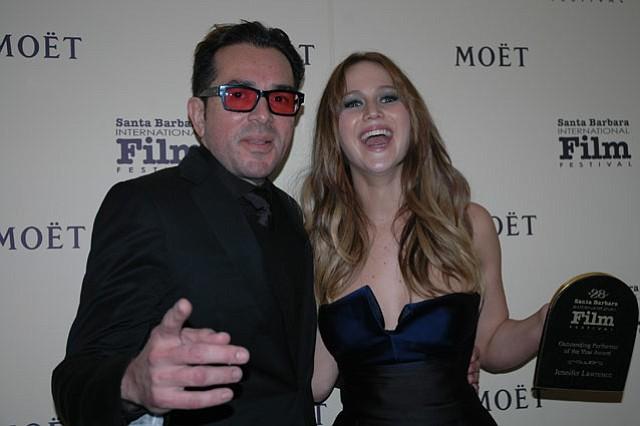 Roger Durling and Jennifer Lawrence