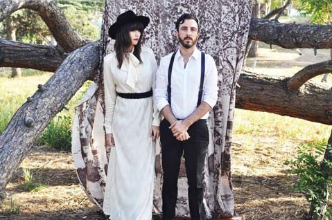 In the Valley Below's Angela Gail and Jeffrey Jacob bring their moody folk tunes to Velvet Jones this Saturday. The band opens for synth popsters Sir Sly.