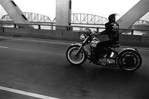 "Danny Lyon's, ""Crossing the Ohio, Louisville 1966."""