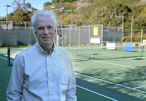 Elings Park chief Danny Vickers lambasted some Las Positas tennis players leading the charge against fee increases, accusing them of boorish behavior and ulterior motives.